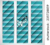 blue striped background. vector ... | Shutterstock .eps vector #235728859