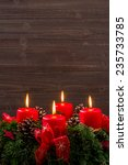 Small photo of an advent wreath for christmas ensures romatinsche mood in the silent advent.