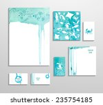 corporate identity business set ... | Shutterstock .eps vector #235754185