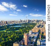 Small photo of Central Park aerial view, Manhattan, New York