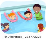 illustration of kids being... | Shutterstock .eps vector #235773229