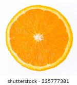 orange fruit isolated on white... | Shutterstock . vector #235777381