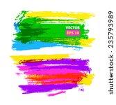vector hand drawing... | Shutterstock .eps vector #235793989