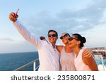 group of friends taking self... | Shutterstock . vector #235800871