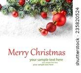 Christmas Composition On Light...