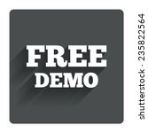 free demo sign icon....