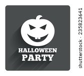 halloween pumpkin sign icon....