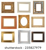photo frame isolated on white... | Shutterstock . vector #235827979
