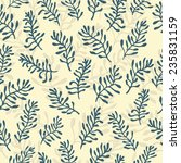 vector seamless pattern with... | Shutterstock .eps vector #235831159