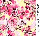 seamless pattern of spring...   Shutterstock . vector #235856455