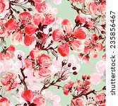 seamless pattern of spring... | Shutterstock . vector #235856467