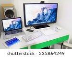ufa  russia   december 5  2014  ... | Shutterstock . vector #235864249