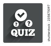 quiz with check and question...