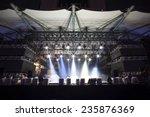 stage lights  light show... | Shutterstock . vector #235876369