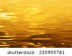 Gold Water Texture
