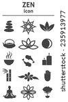 zen icon. buddhism  zen... | Shutterstock .eps vector #235913977