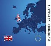 uk map cover vector | Shutterstock .eps vector #235931641