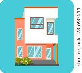 apartment houses  | Shutterstock . vector #235932511