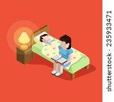 flat 3d family parenting...   Shutterstock .eps vector #235933471