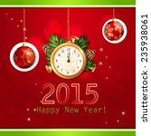 happy new year illustration...   Shutterstock .eps vector #235938061
