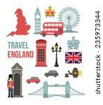 great britain vector flat icon...   Shutterstock .eps vector #235973344