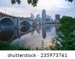 City View Of Minneapolis In An...