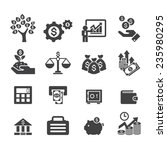 business and finance icon | Shutterstock .eps vector #235980295