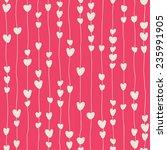 seamless pattern of stylized... | Shutterstock .eps vector #235991905