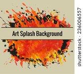 textured hand drawn art... | Shutterstock .eps vector #236006557