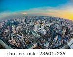 top view city  bangkok  ... | Shutterstock . vector #236015239
