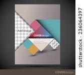 cover design template | Shutterstock .eps vector #236064397