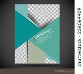 cover design template   Shutterstock .eps vector #236064409