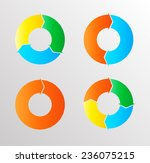 vector circle arrows . | Shutterstock .eps vector #236075215