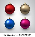 vector illustration of shiny... | Shutterstock .eps vector #236077525