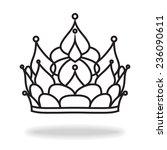 crown of princess | Shutterstock . vector #236090611