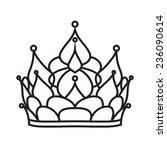 crown of princess | Shutterstock . vector #236090614