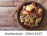 German Potato Salad On A Plate...