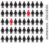 man and woman figures ... | Shutterstock .eps vector #236118181