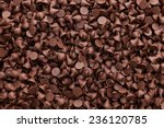 chocolate chips background   Shutterstock . vector #236120785