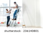 painting  relocation and... | Shutterstock . vector #236140801