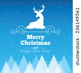 christmas and new year...   Shutterstock .eps vector #236149561