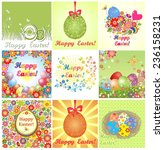 easter cards | Shutterstock .eps vector #236158231