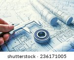 the technical drawings | Shutterstock . vector #236171005