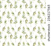 herbs of provence seamless... | Shutterstock . vector #236217565