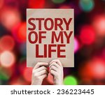 Story Of My Life Card With...