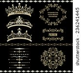 royal design elements  vintage... | Shutterstock .eps vector #236241445