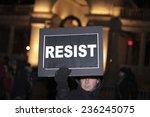new york city   december 7 2014 ... | Shutterstock . vector #236245075