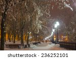Winter Park In The Evening...