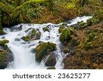 Small Creek  Columbia River...