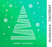 vector greetings card  ... | Shutterstock .eps vector #236258065